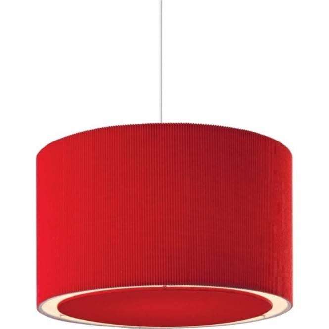 FirstLight 8312RE Emily Easy-Fit Non-Electrical Pendant Red