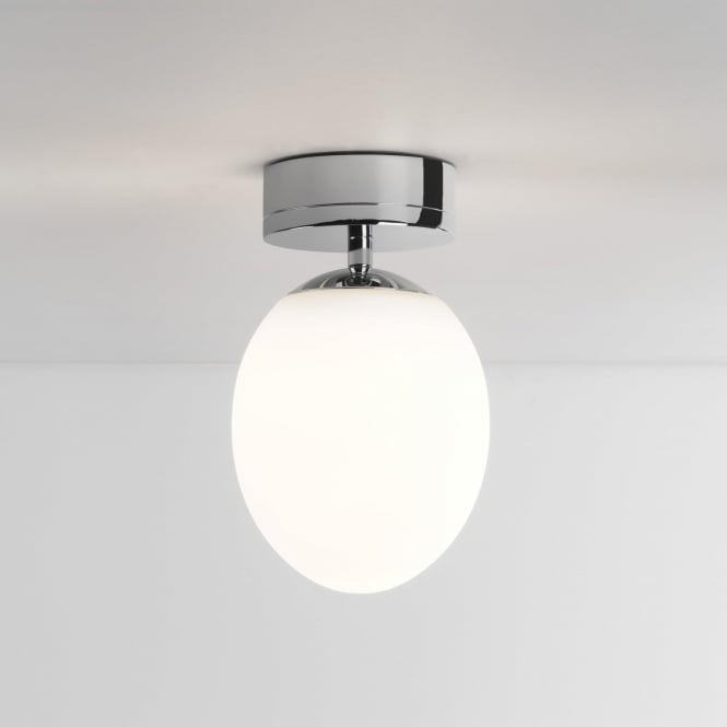 Astro 8009 Kiwi LED Semi-flush Bathroom Ceiling Light IP44 Polished Chrome