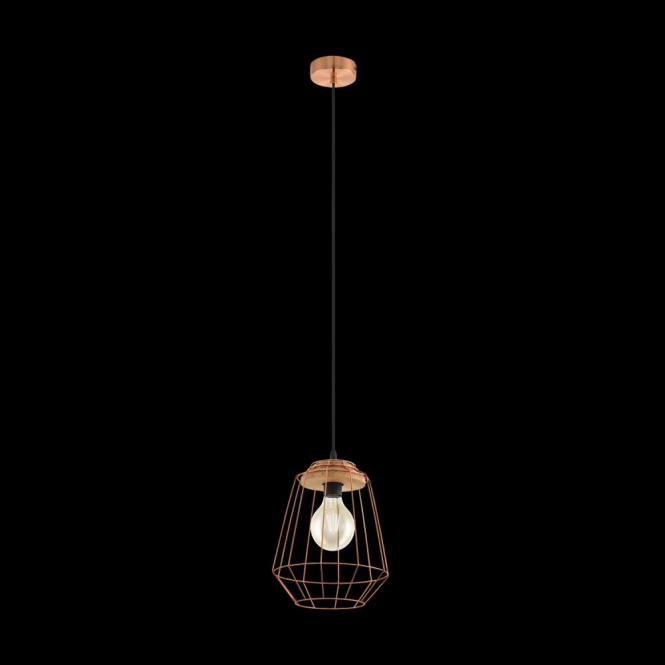 Eglo 49606 Loggans1 1 Light Ceiling Pendant Copper