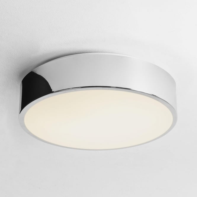 Astro 7933 Mallon LED Flush Ceiling Light IP44 Polished Chrome