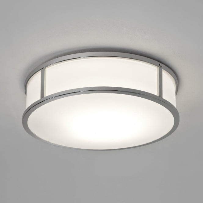 Astro 7947 Mashiko 300 Round LED Ceiling Light IP44 Polished Chrome