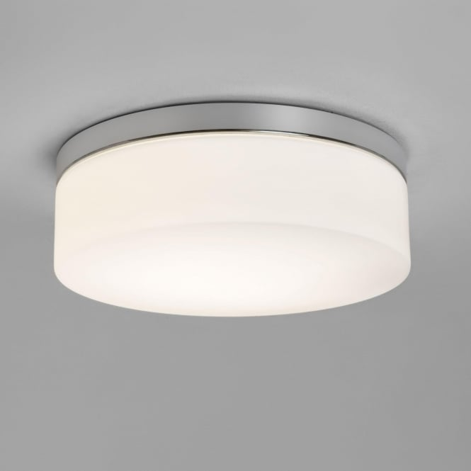 Astro 7911 Sabina 280 LED Flush Ceiling Light IP44 Polished Chrome