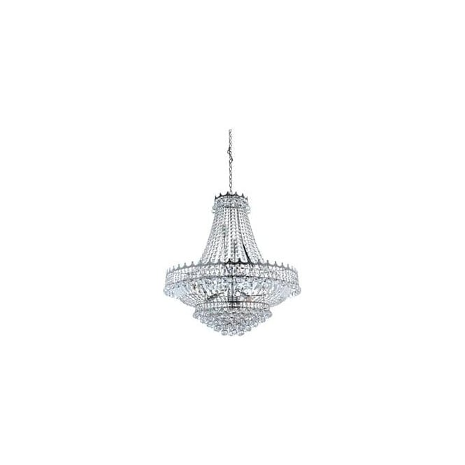 Searchlight 9112-82CC Versailles 13 Light Chandelier Polished Chrome