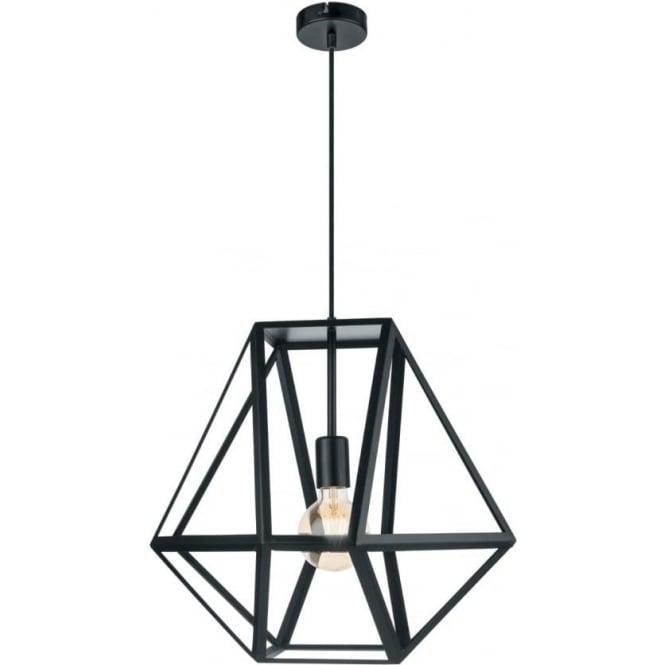 Eglo 49756 Embleton 1 Light Ceiling Pendant Black