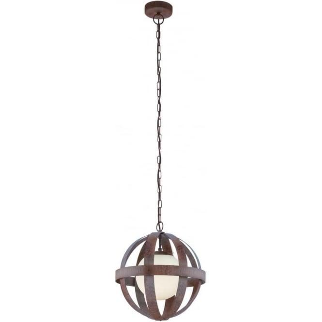 Eglo 49629 Westbury 1 Light Ceiling Pendant Rustic