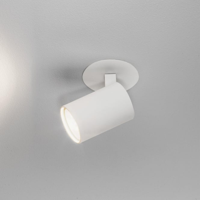 Astro 6149 Ascoli Recess Single 1 Light Spotlight White