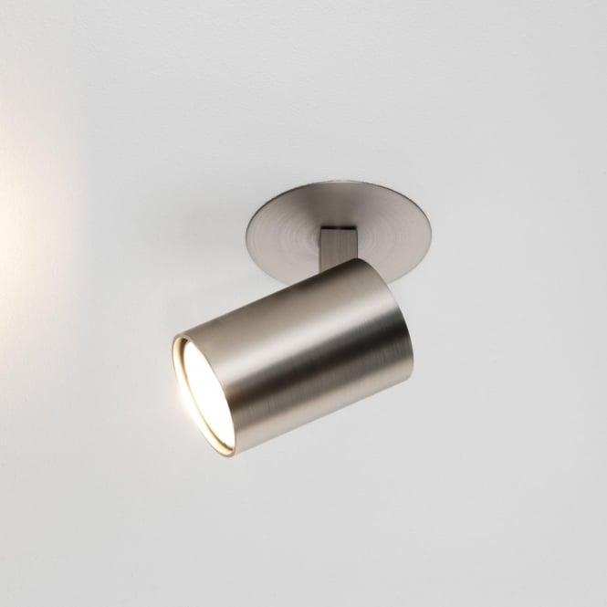 Astro 6151 Ascoli Recess Single 1 Light Spotlight Matt Nickel