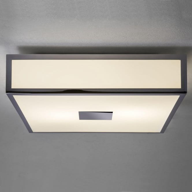 Astro 7942 Mashiko 300 LED Ceiling Light IP44 Polished Chrome