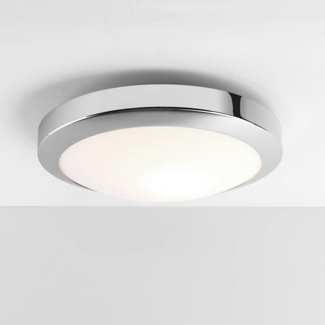 Astro 7934 Dakota 300 LED Flush Ceiling Light Polished Chrome IP44