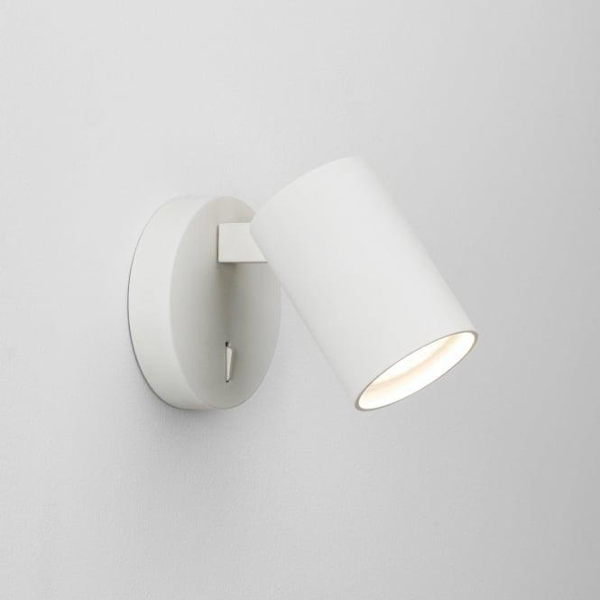 Astro 7940 Ascoli Single Switched 1 Light Spotlight White