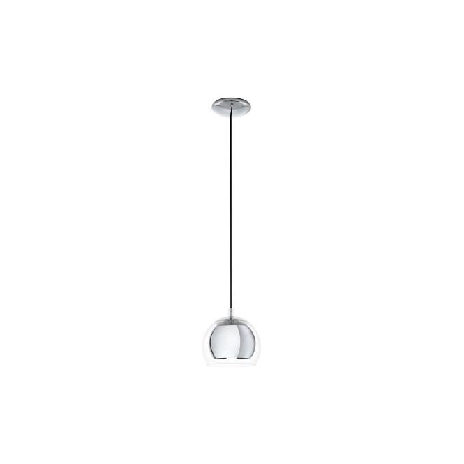 Eglo 94592 Rocamar 1 Light Ceiling Light Polished Chrome