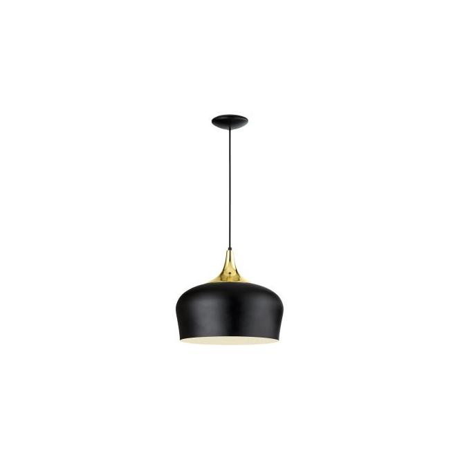 Eglo 95382 Obregon 1 Light Ceiling Pendant Brass/Black