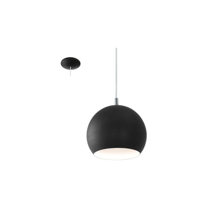 Eglo 95836 Petto LED 1 Light Ceiling Pendant Black