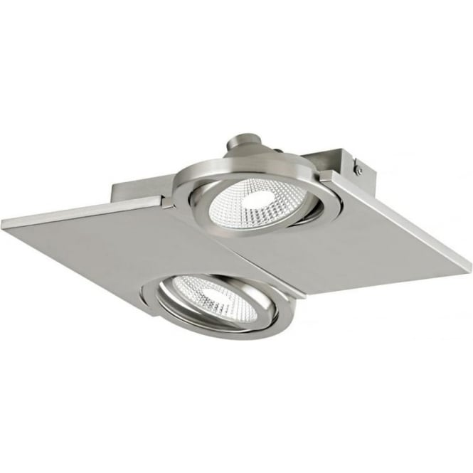 Eglo 39248 Brea 2 Spotlight Satin Nickel IP20