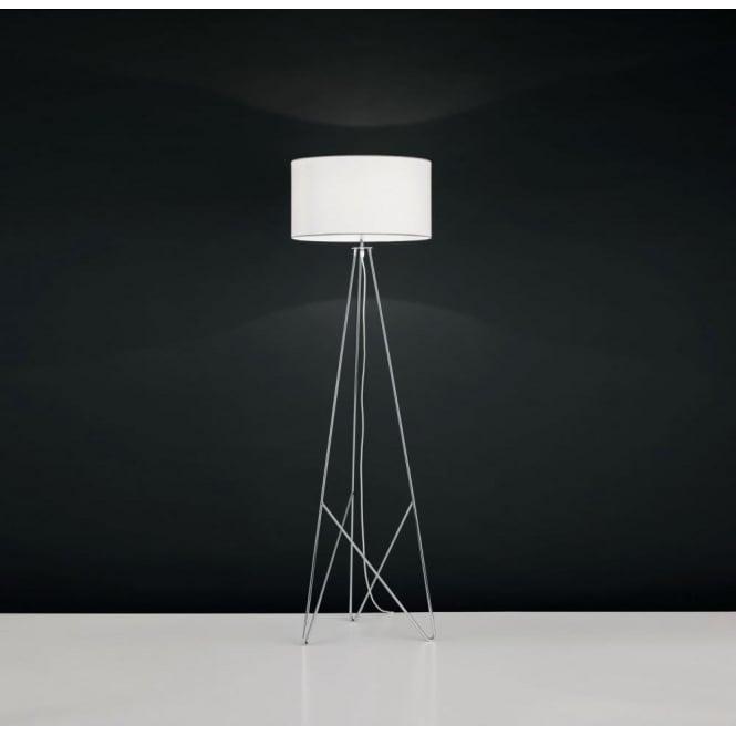 Eglo 39232 Camporale 1 Light Floor Lamp Chrome