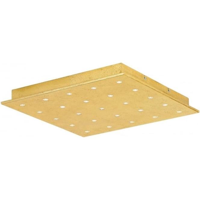 Eglo 39058 Vezeno 1 25 Light Ceiling Light Steel Gold