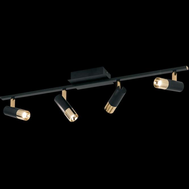 Eglo 39147 Tomares 4 Light Steel Brass Ceiling Spotlight
