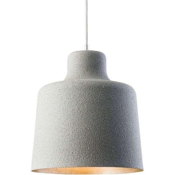 Endon 61051 Holden 1 Light Ceiling Pendant Grey Granite Effect