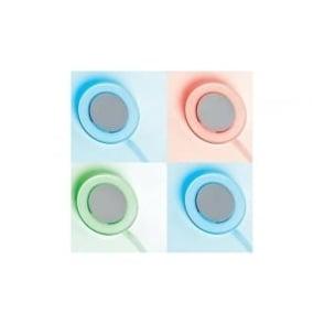 EL-10076-RGB transparent self adhesivesurface mounted LED downlight (set of 4)