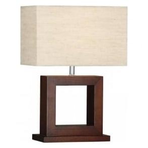 9000 Cosmopolitan 1 Light Table Lamp Wood