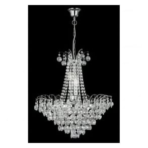 9071-52CC Limoges 6 Light Ceiling Pendant Polished Chrome