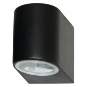 8008-1BK-LED Outdoor Lighting 1 Light Modern Outdoor Wall Light Black Finish IP44 Rated