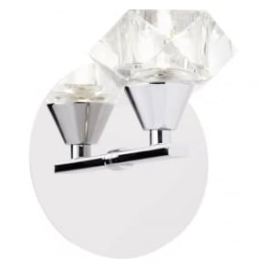 ARIETTA-1WBCH Arietta 1 Light Wall Light Chrome