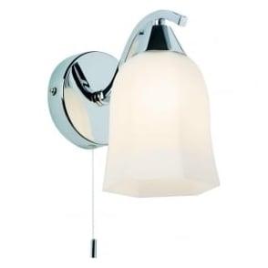 96961-WBCH Alonso 1 Light Switched Wall Light Chrome