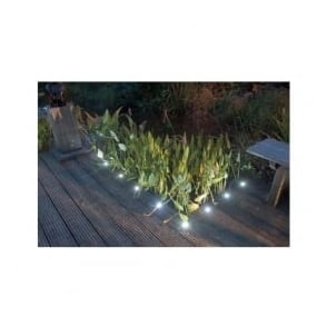 SDSQ30 Square 30mm LED Decking Walkover Plinth Lights IP66 10 Pack