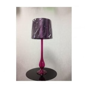 DIL4061 Dillon 1 Light Purple Table Lamp