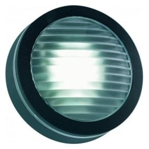EL-40032-BL IP44 Outdoor Wall Light In Black