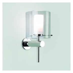 0342 Arezzo IP44 Bathroom Wall Light in Chrome