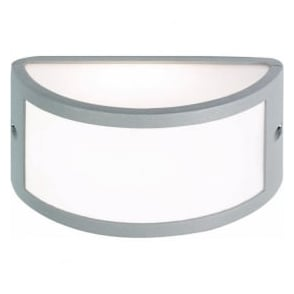 EL-40017 IP44 Outdoor Wall Light In Silver