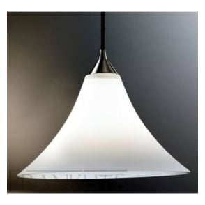 FL2290/1/921 Vetross 1 Light Ceiling Pendant Satin White