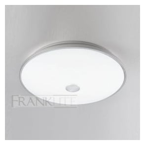 CF5708 4 Light Flush Ceiling Light Satin Nickel