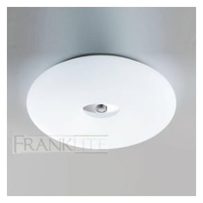 CF5711EL 2 Light Flush Low Energy Ceiling Light Chrome
