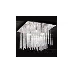 FL2093/8 Carillon 8 Light Ceiling Light Polished Chrome