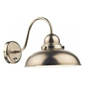 DYN0761 Dynamo 1 Light Switched Wall Light Antique Chrome