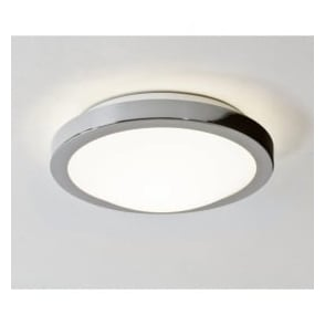 0270 Mariner 1 Light Flush Ceiling Light Polished Chrome IP44