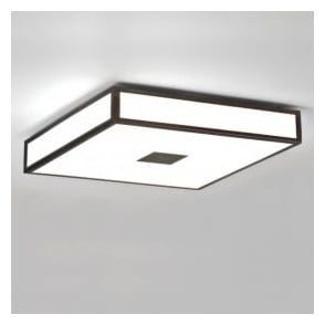 0969 Mashiko 400 4 Light Ceiling Light IP44 Painted Bronze