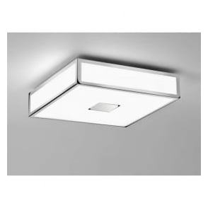 0584 Mashiko 300 2 Light Ceiling Light IP44 Polished Chrome