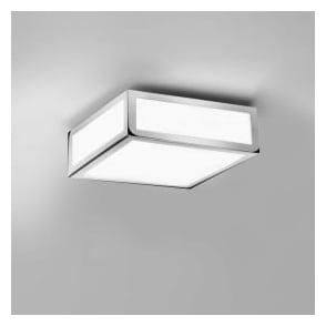 0890 Mashiko 200 1 Light Ceiling Light Polished Chrome