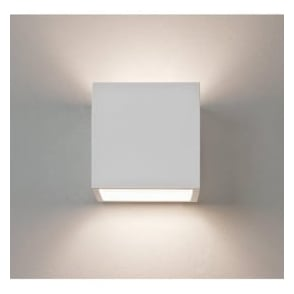0917 Pienza 140 1 Light Up/Down Wall Light Plaster