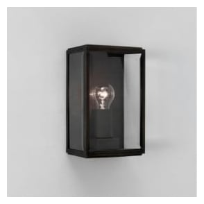 0483 Homefield 1 Light Outdoor Wall Light Black IP44