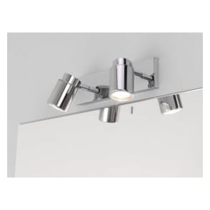 6121 Como 2 Light Twin IP44 Spotlight Polished Chrome