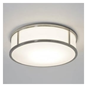 7179 Mashiko Round 230 1 Light Ceiling Light Polished Chrome
