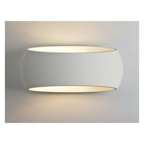 Astro 7074 Aria 300 1 Light Wall Light Plaster