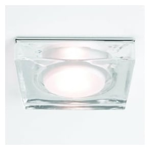 5519 Vancouver Square 1 Light IP65 Downlight Polished Chrome
