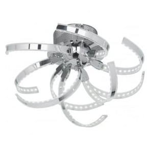 PACINO-CH-F Pacino LED Ceiling Light Polished Chrome