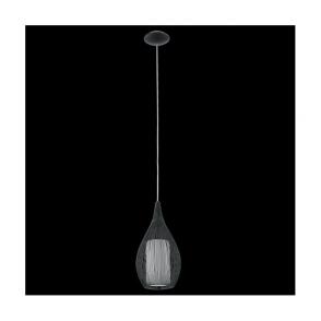 92252 Razoni 1 Light Pendant Black